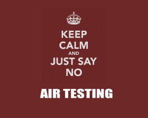Do I need air tests during my mold inspection?